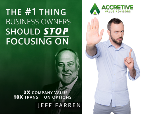 The Number One Thing Business Owners Should Stop Focusing On